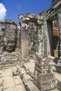 Bayon Temple,  Angkor Thom, Cambodia Stock Photography