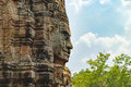 Bayon Temple in Angkor Thom Complex, Cambodia