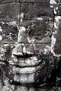 Bayon Temple Face Royalty Free Stock Image
