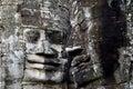 Bayon Temple faces, Angkor Wat Royalty Free Stock Photo