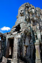Bayon Temple Series 01 Royalty Free Stock Image