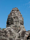 Bayon temple, Siem Reap in Cambodia Royalty Free Stock Photography