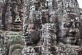 Bayon Temple Smiling Faces Royalty Free Stock Image