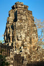 Bayon tower, Cambodia Royalty Free Stock Image