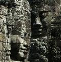 Bayon Wat View,SiemRiep,Cambodia Royalty Free Stock Image