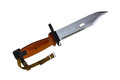 Bayonet knife Stock Image