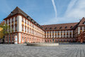 Bayreuth old town - old castle Royalty Free Stock Photo