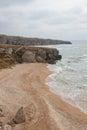 Bays of the karalarsky natural landscape park crimea Stock Photography