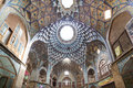 Bazaar of Kashan, in Iran Royalty Free Stock Photo