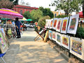 Bazar Sabado in Mexico City Royalty Free Stock Photo