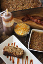 BBQ Bacon Cheddar Meatloaf Dinner Vertical Royalty Free Stock Photo