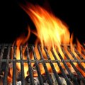 BBQ Grill Abstract Frame Backg...