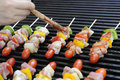 Bbq grill juicy of meat Royalty Free Stock Photo