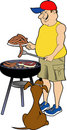 BBQ_guy.jpg Stock Photo