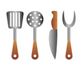 Bbq icon Royalty Free Stock Photo