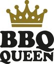 BBQ queen with crown