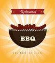 Bbq restaurant Stock Image
