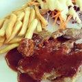 Bbq stek Obraz Stock
