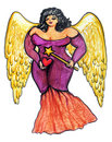 Bbw Guardian Angel Stock Images