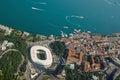 Beşiktaş, Istanbul with Vodaphone Arena Royalty Free Stock Photo