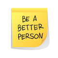 Be a Better Person Royalty Free Stock Photo