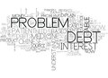 Be Debt Free To Live In Harmony Word Cloud