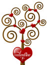 Be My Valentine Tree Royalty Free Stock Photography