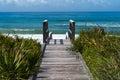 Beach Access Royalty Free Stock Photos