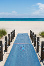 Beach Access Walkway Royalty Free Stock Photo