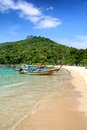 Beach at Andaman sea, Thailand Stock Photography