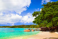 Beach Anse Lazio at Seychelles Royalty Free Stock Photography
