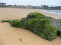 Beach around saint malo scenery a port city in northwestern france Stock Images
