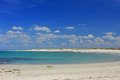 Beach at the atlantic ocean tronoen finistere brittany france Stock Photography