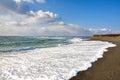 Beach on Avalon Peninsula in Newfoundland, Canada Royalty Free Stock Photo