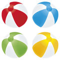 Beach ball basic Royalty Free Stock Images
