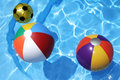 Beach Balls Royalty Free Stock Photos