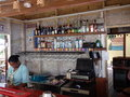 A beach bar at the bequia beach resort hotel Stock Photo