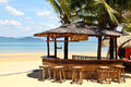 Beach bar Royalty Free Stock Photo