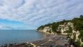 Beach In Beer Devon Royalty Free Stock Photo