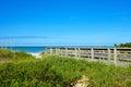 Beach Boardwalk Royalty Free Stock Photo