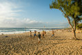 The beach of Boucan Canot on La Reunion island, France Royalty Free Stock Photo