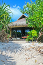 BEACH BUNGALOW Royalty Free Stock Photos