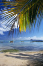 Beach at Cape Malheureux Mauritius Island Royalty Free Stock Images