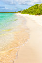 The beach at cayo coco in cuba ripples water key a tourist destination Stock Images