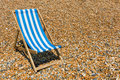 Beach chair Royalty Free Stock Photo
