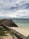 Beach And Cloudy Sky