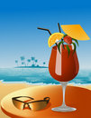 Beach_cocktail Royalty Free Stock Image