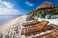 Pláž v mexiko