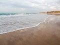 Beach at Dakhla in Western Sahara region of Morocco Royalty Free Stock Photo
