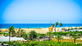 Beach farms ! Royalty Free Stock Photo